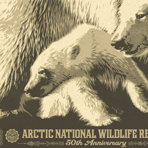 Artic National Wildlife Refuge 50th Anniversary by Shepard Fairey