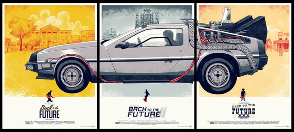 Back to the Future Trilogy Set