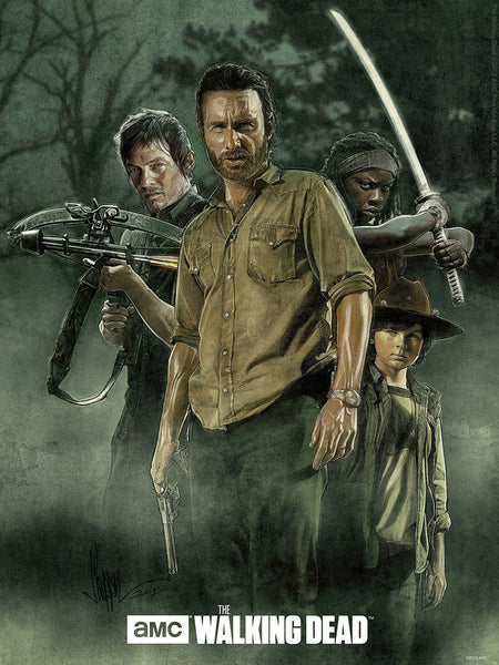 The Walking Dead by Paul Shipper