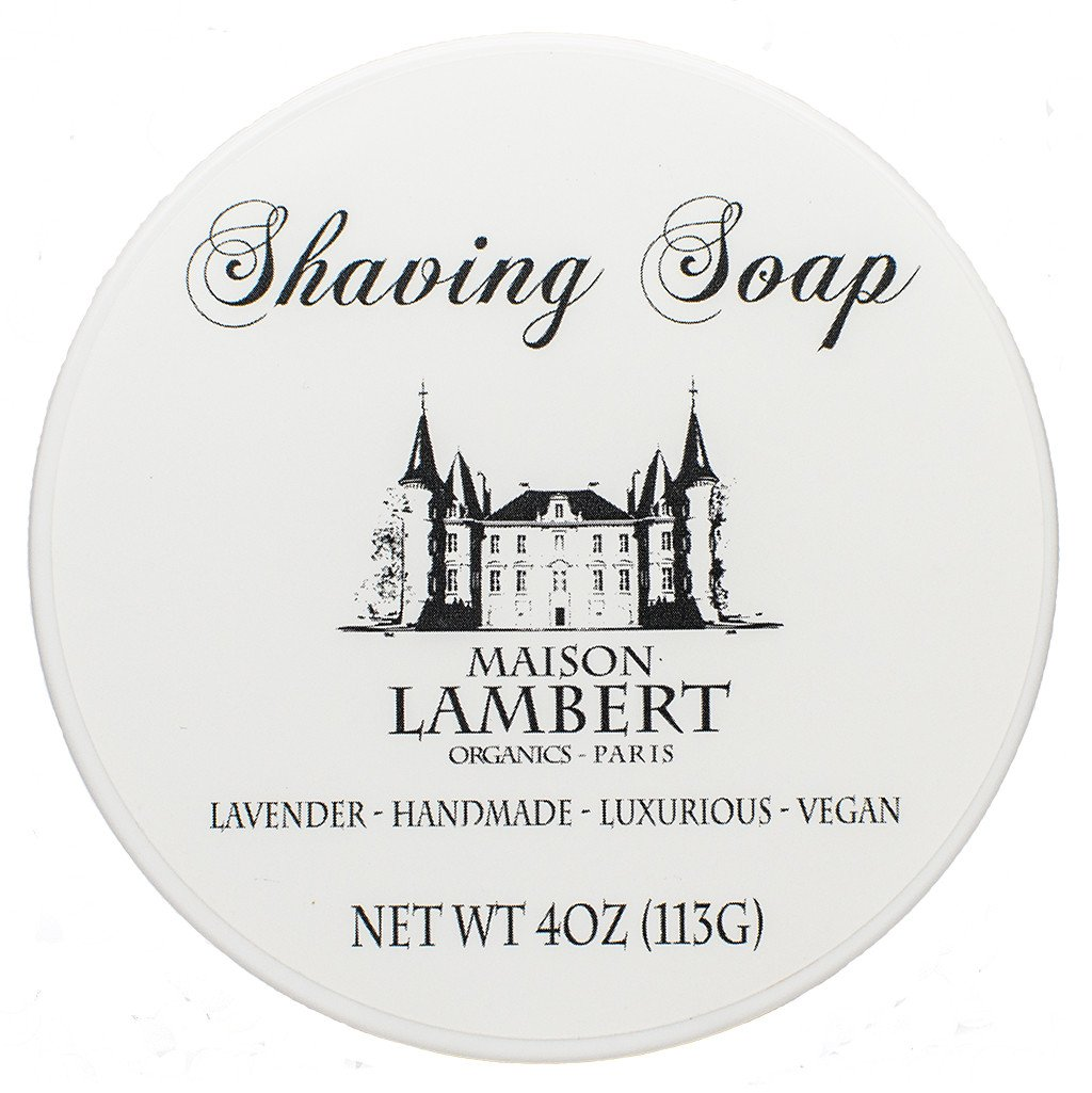Shaving Soap - Organic Shaving Soap - Shave Soap - With Argan Oil And Bentonite Clay