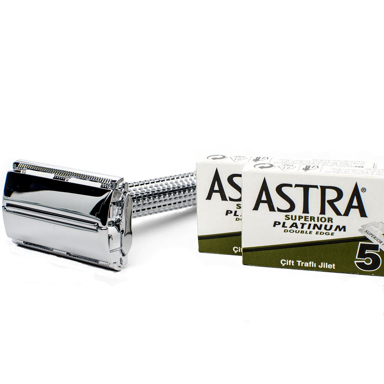 Razor - Double Edge Safety Razor - FREE 10 Astra Blade