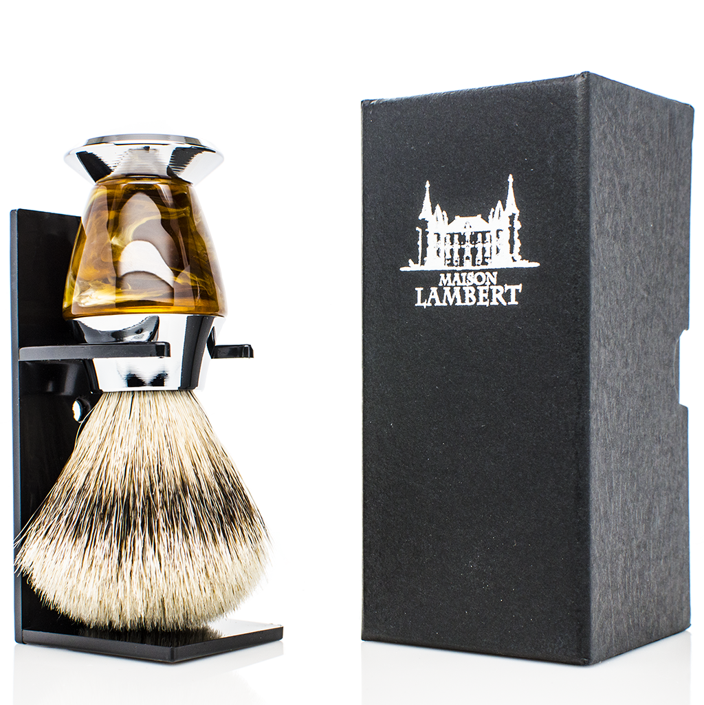 Shaving Kit - Shaving Kit With Luxurious SILVERTIP Badger Shaving Brush - Personalizable