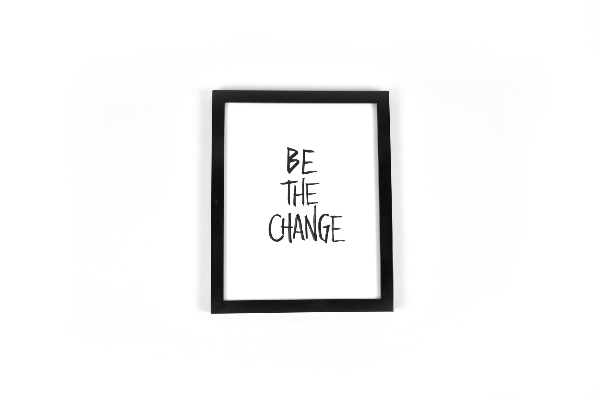 BE THE CHANGE // Imprimé // Art Print
