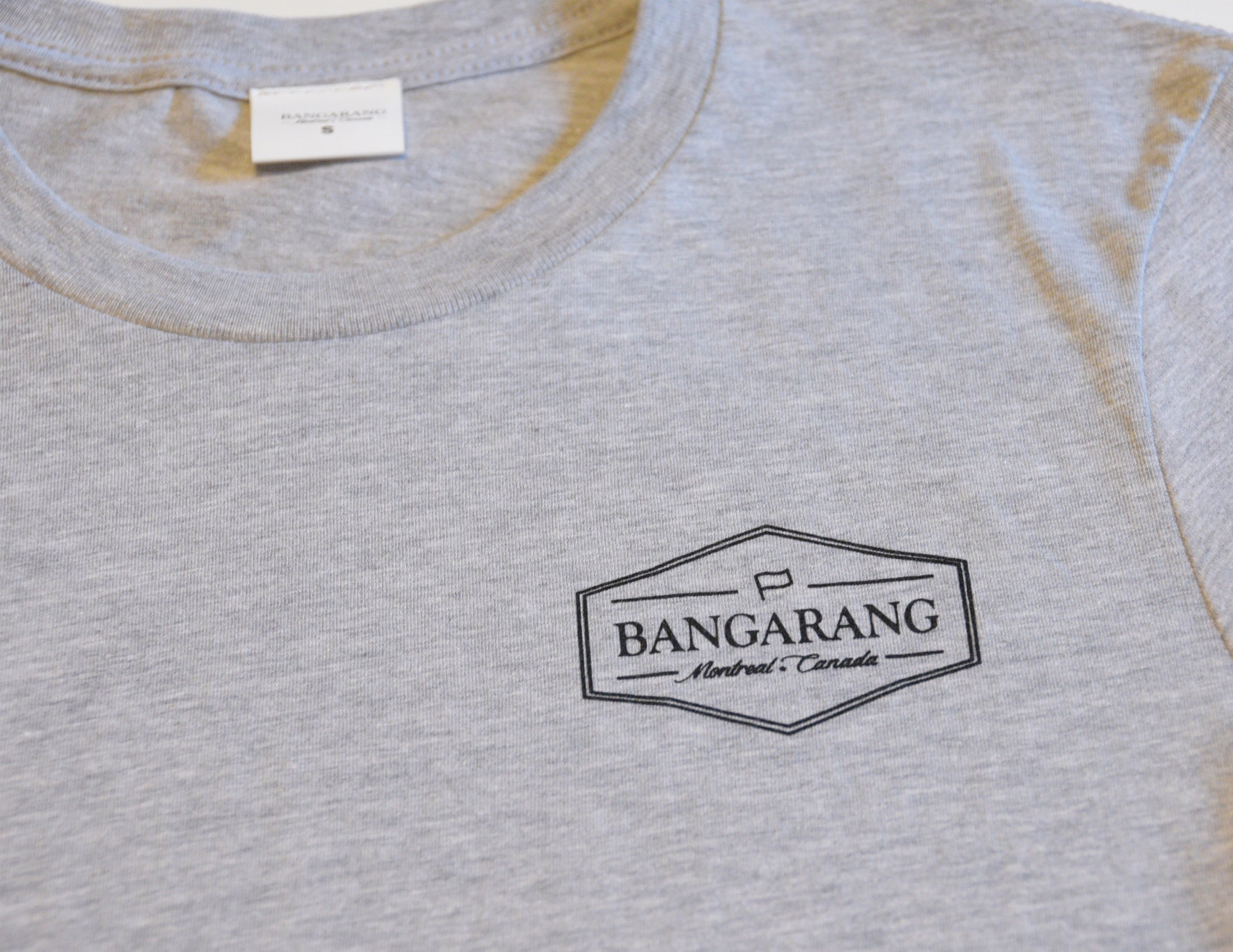 BANGARANG LOGO // T-Shirt Gris // Heather Tee