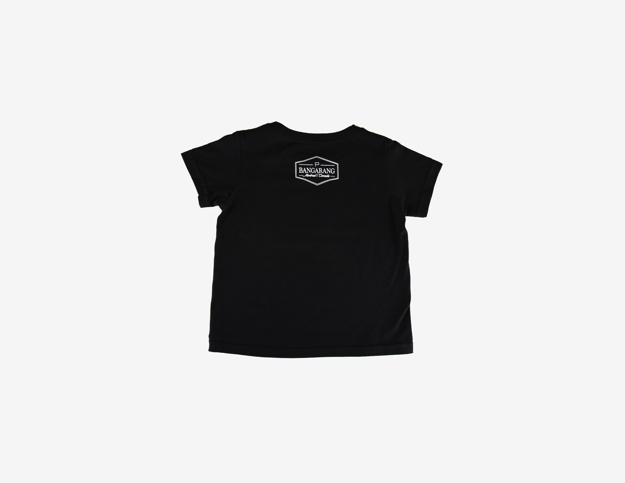 BANG BANG BANGARANG // T-Shirt Enfant Noir // Black Toddler Tee