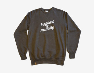 INSPIRED BY POSITIVITY // Chandail Cendres // Ashes Crewneck Sweater