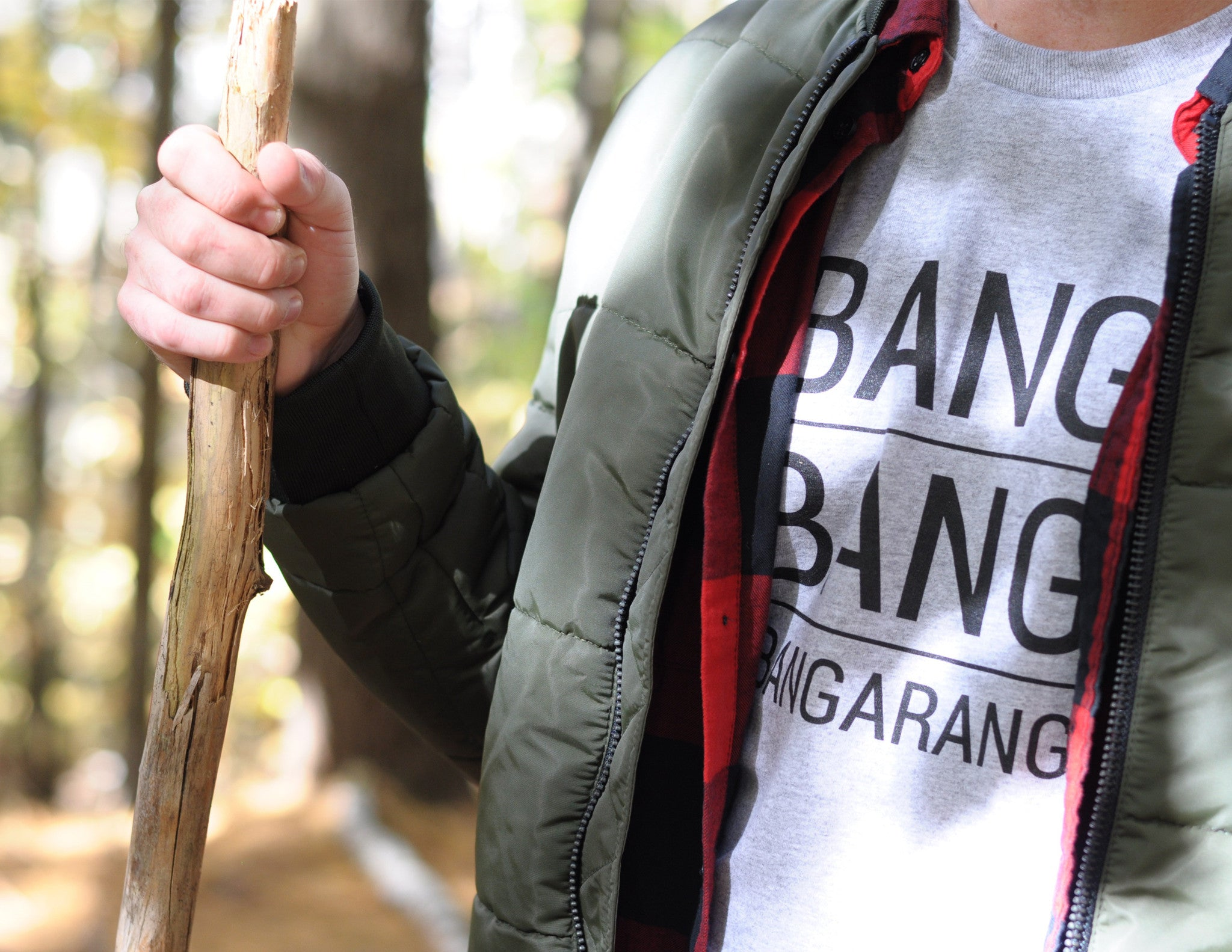 BANG BANG BANGARANG // T-Shirt Gris // Heather Grey Tee