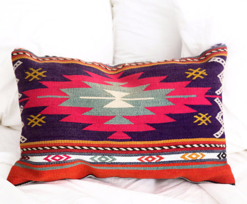 Lara Turkish lumbar pillow