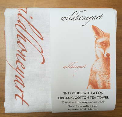 Tea Towel - The Fox