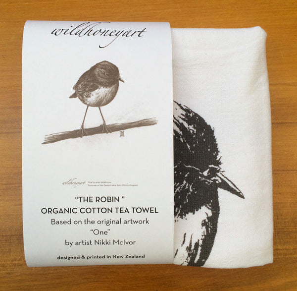 Tea Towel - The Robin
