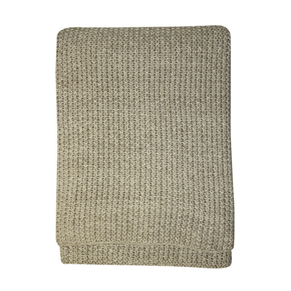 Moss Stitch Throw - various