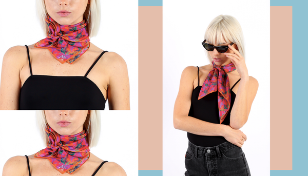 A.M. Club Silk Scarf Lookbook