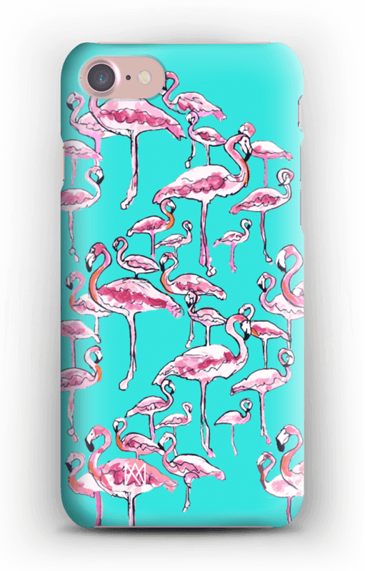 Tropical Flamingo Phone/iPad Case - A.M.