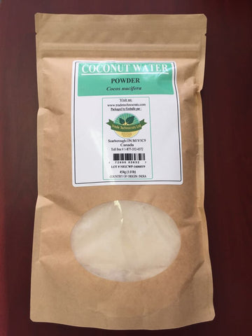 COCONUT WATER POWDER - Trade Technocrats Ltd