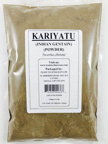 KARIYATU POWDER (INDIAN GENTIAN) - Trade Technocrats Ltd