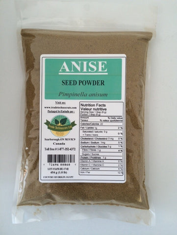 ANISE SEED POWDER - Trade Technocrats Ltd