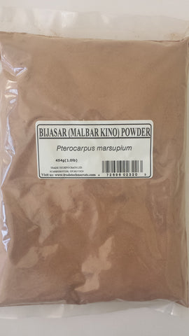 BIJASAR (BIJASAL) MALABAR KINO POWDER - Trade Technocrats Ltd