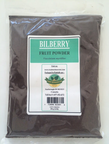 BILBERRY FRUIT POWDER - Trade Technocrats Ltd