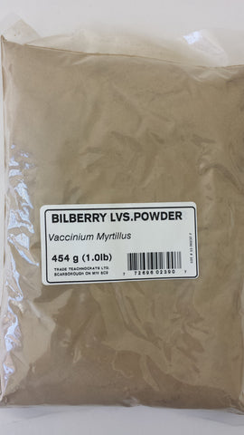 BILBERRY LEAVES POWDER - Trade Technocrats Ltd