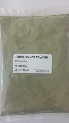 BIRCH LEAVES POWDER - Trade Technocrats Ltd