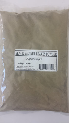 BLACK WALNUT LEAVES  POWDER - Trade Technocrats Ltd
