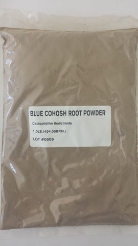 BLUE COHOSH ROOT POWDER - Trade Technocrats Ltd