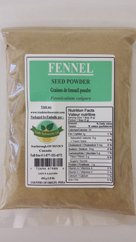 FENNEL SEED POWDER - Trade Technocrats Ltd