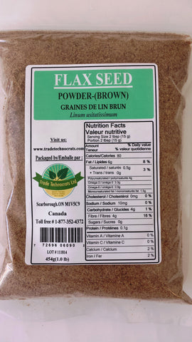 FLAXSEED POWDER (BROWN) - Trade Technocrats Ltd