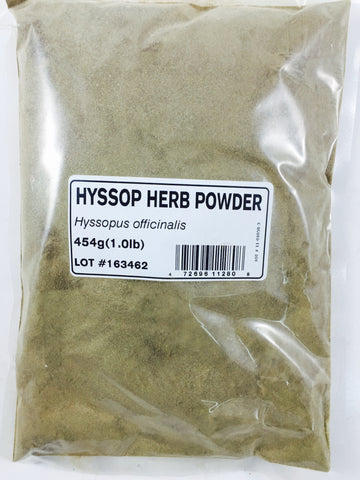 HYSSOP HERB POWDER - Trade Technocrats Ltd