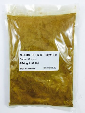 YELLOW DOCK ROOT POWDER - Trade Technocrats Ltd