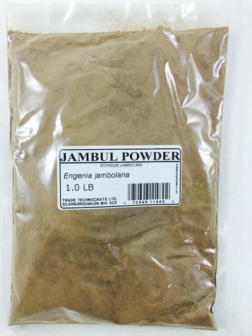 JAMBUL (SYZYGIUM JAMBOLANUM) POWDER - Trade Technocrats Ltd