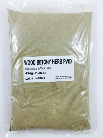 WOOD BETONY HERB POWDER - Trade Technocrats Ltd