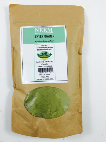 NEEM LEAVES POWDER - Trade Technocrats Ltd