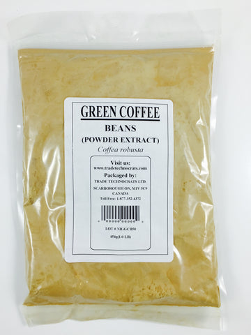 GREEN COFFEE BEAN EXTRACT POWDER - Trade Technocrats Ltd
