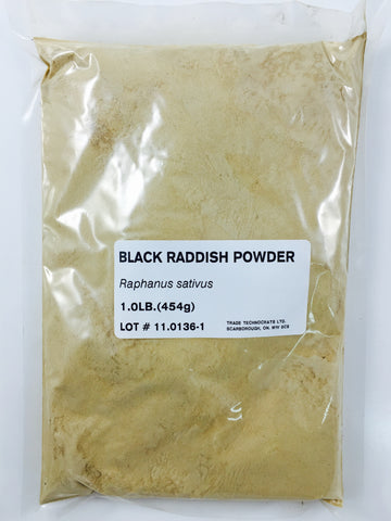 BLACK RADISH POWDER - Trade Technocrats Ltd
