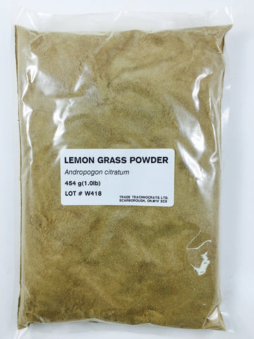 LEMON GRASS POWDER - Trade Technocrats Ltd
