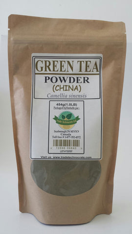 GREEN TEA CHINA POWDER - Trade Technocrats Ltd