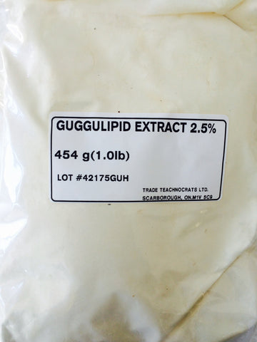 GUGGUL LIPID POWDER EXTRACT 2.5% - Trade Technocrats Ltd