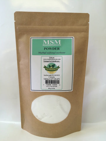 MSM POWDER - Trade Technocrats Ltd