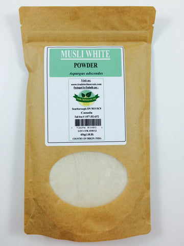 ASPARAGUS ADSCENDES (WHITE MUSALI) POWDER - Trade Technocrats Ltd