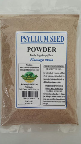PSYLLIUM SEED BLONDE POWDER - Trade Technocrats Ltd