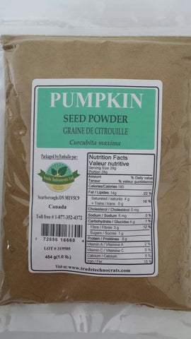 PUMPKIN SEED POWDER - Trade Technocrats Ltd