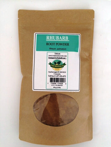 RHUBARB ROOT POWDER - Trade Technocrats Ltd