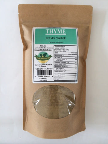 THYME LEAVES POWDER - Trade Technocrats Ltd