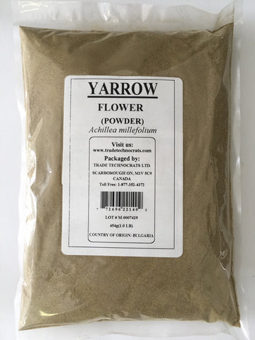 YARROW FLOWER POWDER - Trade Technocrats Ltd