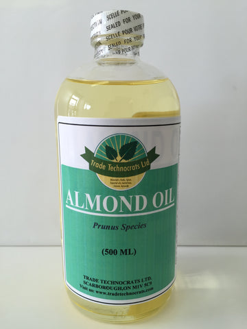 ALMOND OIL 500ml - Trade Technocrats Ltd