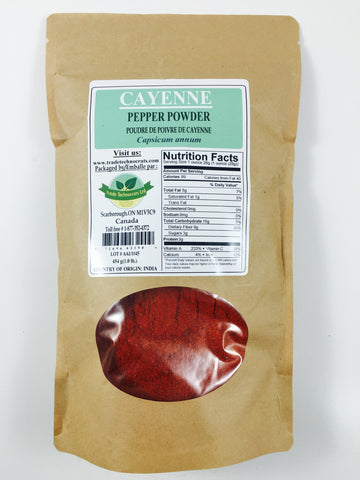 CAYENNE PEPPER POWDER (25,000 H.U.) - Trade Technocrats Ltd