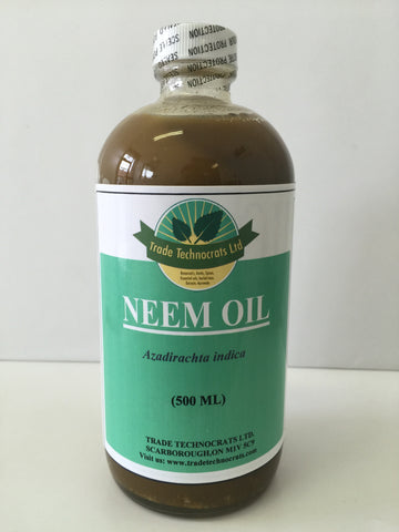 NEEM OIL 500ml - Trade Technocrats Ltd