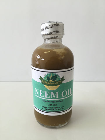 NEEM OIL 125ml - Trade Technocrats Ltd