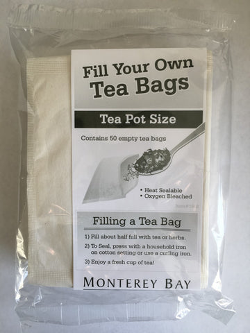 PRESS 'N BREW (diy) TEA BAGS (Large)